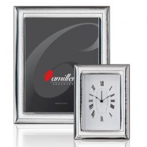 porta foto in argento bilaminato formato cm 13-18