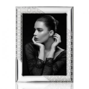 porta foto in argento bilaminato formato cm 10-15