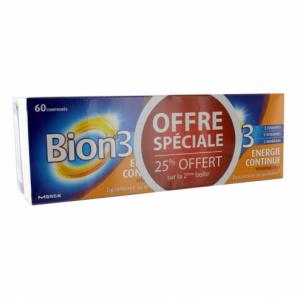 Bion 3 Energia Continua Lotto di 2 x 60 compresse
