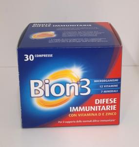 Bion 3 Integratore per le Difese Immunitarie 30 Compresse