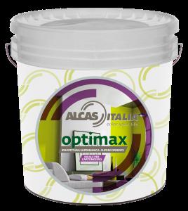 Alcas optimax pittura lavabile bianca per interni 14lt ideale anche per cartongesso