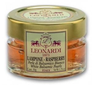 Acetaia Leonardi Perle Balsamico Bianco e Lampone GR.50
