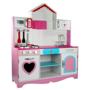 Cucina per bambini in legno Marika con accessori