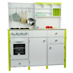 Cucina per bambini in legno Giada con forno e accessori