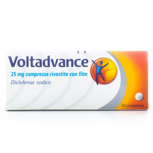 Voltadvance 25 mg- 10 Compresse Rivestite con Film