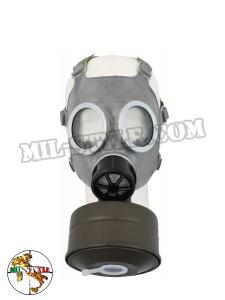 Maschera antigas Polacca M41 con borsa mimetica e filtro (non adatta al suo uso originale)