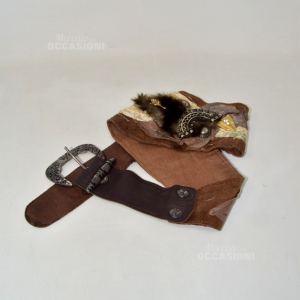 Genuine Belt Leather Hand Made Made In Italy M.gentile