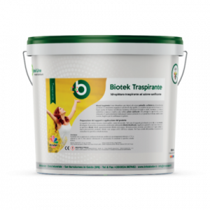 Kristalcolor biotek traspirante bianca antimuffa antibatterica 14lt