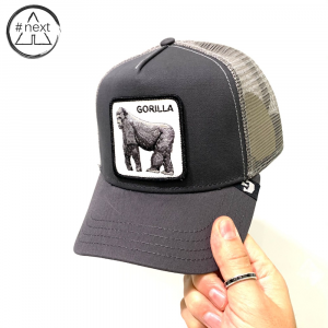 Goorin Bros - Animal Farm Truckers - Gorilla grigio.