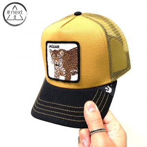 Goorin Bros - Animal Farm Truckers - Jaguar giallo nero