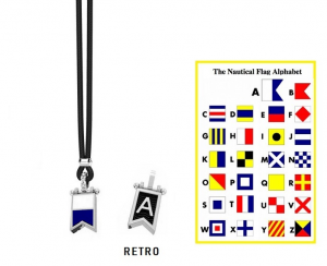 Zancan Collana Nautica, Bandiera Alfabeto Nautico, Lettera A