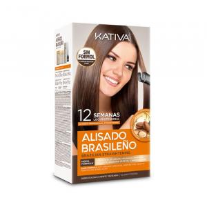 Kativa Brazilian Straightening Natural Set 6 Pieces 2020