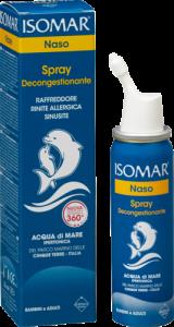 Isomar Naso Spray Decongestionante 50ml Acqua di Mare Ipertonica