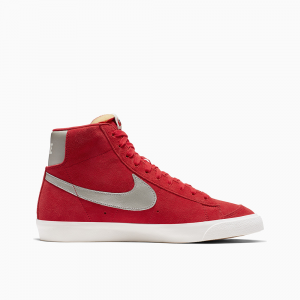 Nike Blazer Mid 77 Red-Grey da Uomo