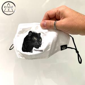 Goorin Bros - Animal Farm Mascherina - Panther bianco