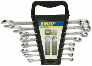 Set 12 chiavi combinate inglese/ad anello 6-22mm Kinzo
