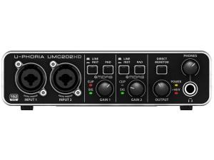 INTERFACCIA AUDIO 2x2 USB 24 BIT/192 KHZ CON PREAMP MIDAS E PHANTOM +48V