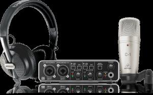 Behringer U-Phoria Studio PRO interfaccia audio Bistock