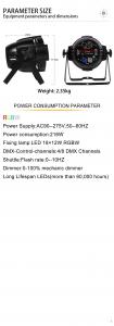 (Big) Aluminum alloy LED Par 18x18W RGBWA+UV Lighting