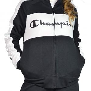 Champion Felpa con Zip da Donna