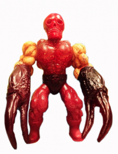 Musculoids figure: Crab Claw