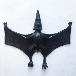 Musculoids figure: Black Wizard Hellbeast