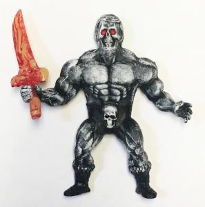 Musculoids figure: Black skull