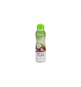TROPICLEAN BERRY E COCONUT  DEEP CLEANING SHAMPOO PER CANI COCCO E MIRTILLO 355 ml