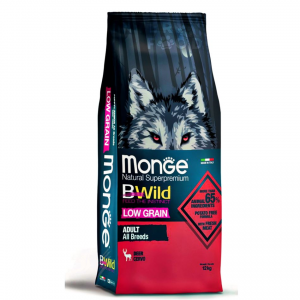 MONGE B-WILD LOW GRAIN - CERVO - ADULT ALL BREED