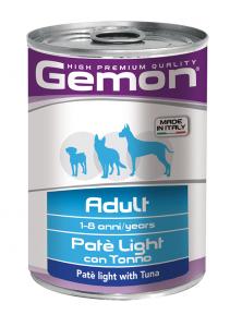 GEMON ADULT - BOCCONI CON TONNO E SALMONE 415 GR