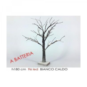 General Trade Albero Innevato 180CM 96 Led