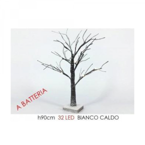 General Trade Albero Innevato 90cm 32 Led