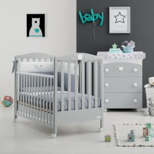 Cameretta completa lettino e Bagnetto linea Baby Dream by Azzurra Design
