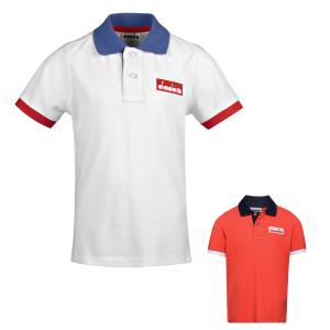 Diadora Sportswear JB.SS POLO 5 PALLE Bambino