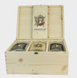 Box in legno da 6