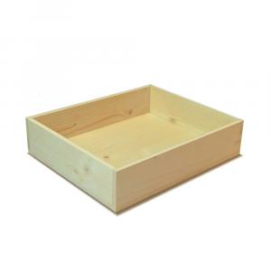 Cassetta in legno di Abete rettangolare