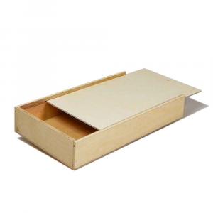 Scatola in legno con coperchio scorrevole 31x17