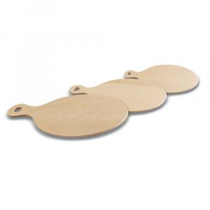 Set taglieri ovali in legno di Faggio