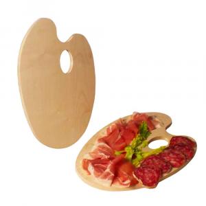 Tagliere tavolozza in legno di Faggio