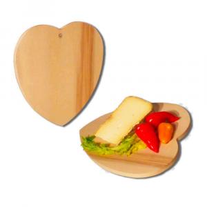 Tagliere cuore in legno di Faggio