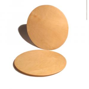 Set sottopiatto rotondo in legno di Betulla 32cm