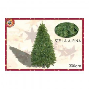 General Trade Albero Di Natale Stella Alpina 3,0Mt