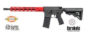 M4 evolution 14.5'' red Dynamic Tactical