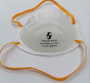 Mascherine FFP2 a conchiglia senza valvola