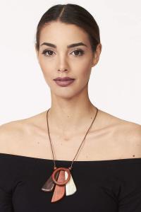 Tipica collana etnica in legno | vendita accessori etnici
