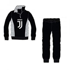 Pigiama taglia 12 anni Juventus manica lunga nero