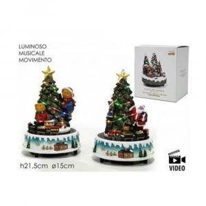 General Trade Albero Di Natale Con Trenino e Musica