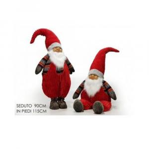 General Trade Babbo Natale 115 cm Con Cappello Rosso
