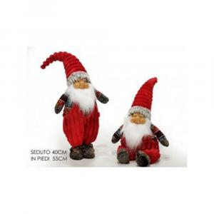 General Trade Babbo Natale Con Cappello Rosso 55 cm