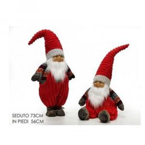 General Trade Babbo Natale Con Cappello Rosso 73 cm
